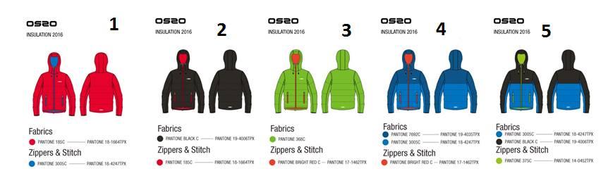 OS2O Insulation jacket