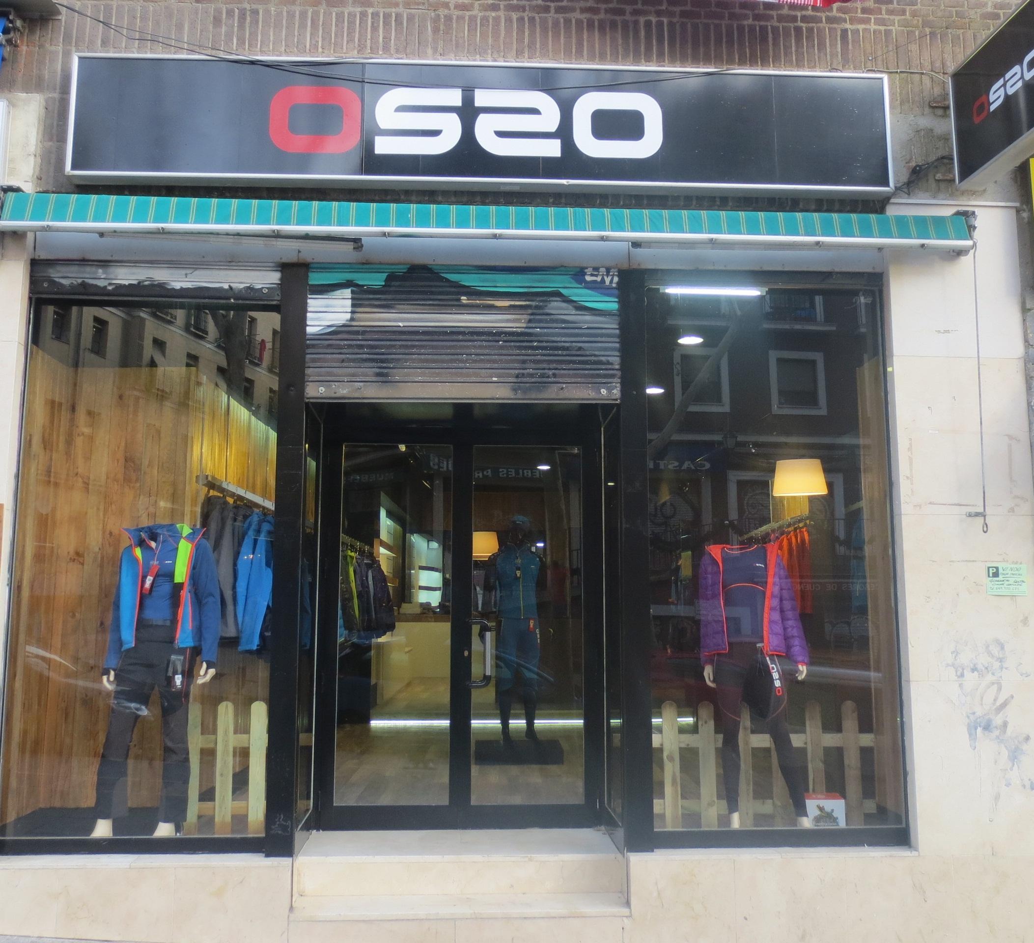Os2o Madrid Una Tienda De Ropa De Montaña Desde Dentro O Blog