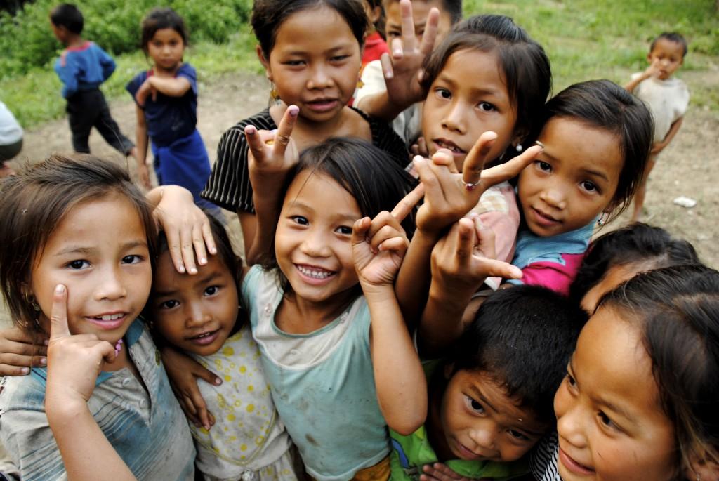 Niñas nepalís