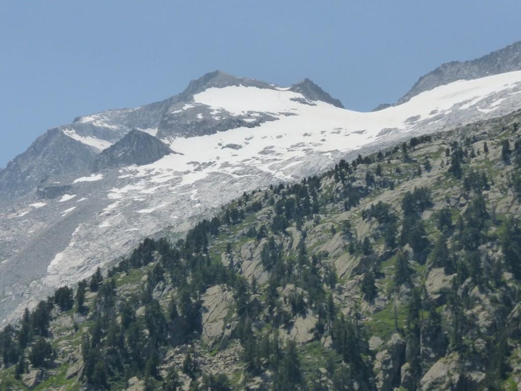 El Aneto y su glaciar