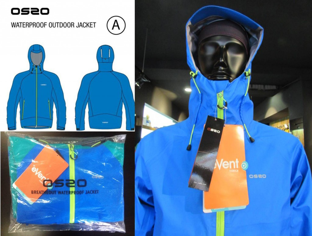 Una idea, una realidad: OS2O Breathout Waterproof Jacket