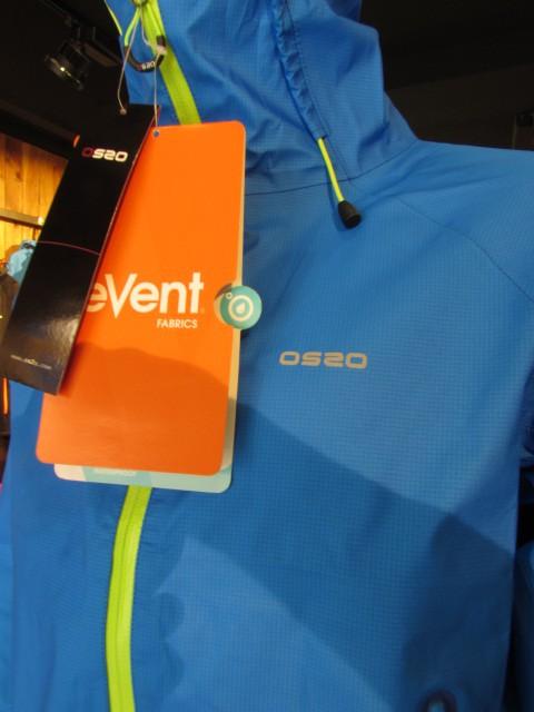 OS2O BREATHOUT chaqueta impermeable con membrana eVent