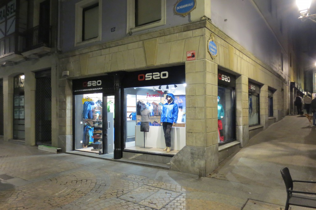 Ropa de montaña OS2O en Bilbao