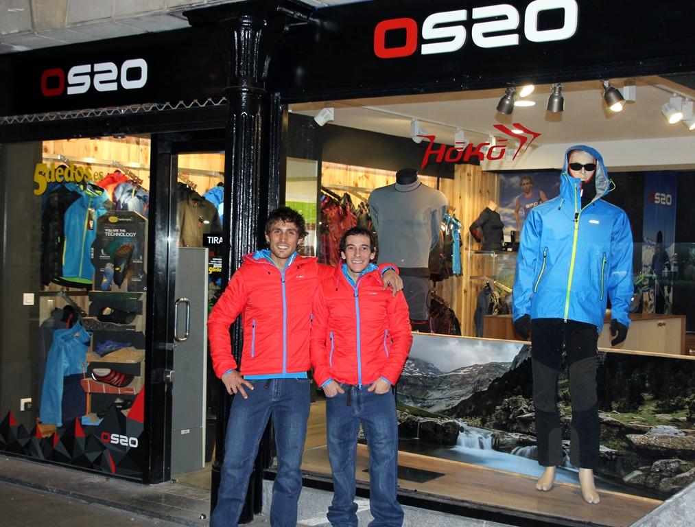 Eder y Kapi en Os2o Bilbao
