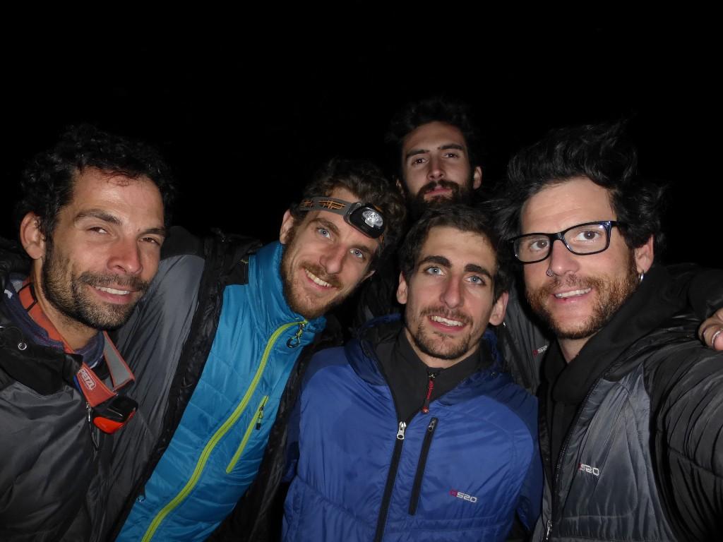 Os2o Alpine Team 2014-2015 con invitado de lujo