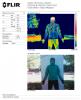 OS2O Fastlite Down Jacket analisis termografico