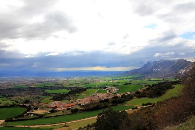 Disfrutando de Sierra Cantabria