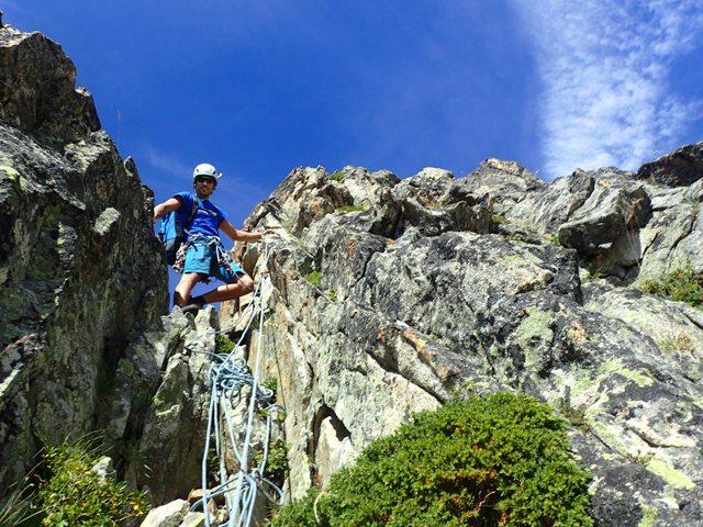Arista Ferbos al pico Tres Consejeros