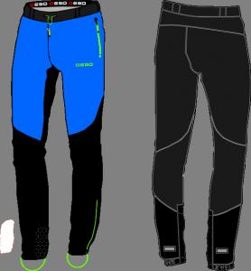 Pantalones esqui de montaña OS2O Glacier Skimo Pants