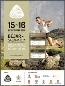 Cartel de la UltraTrail La Covatilla