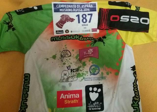 Campeonato de España Mushing Tierra, Ólvega 2016