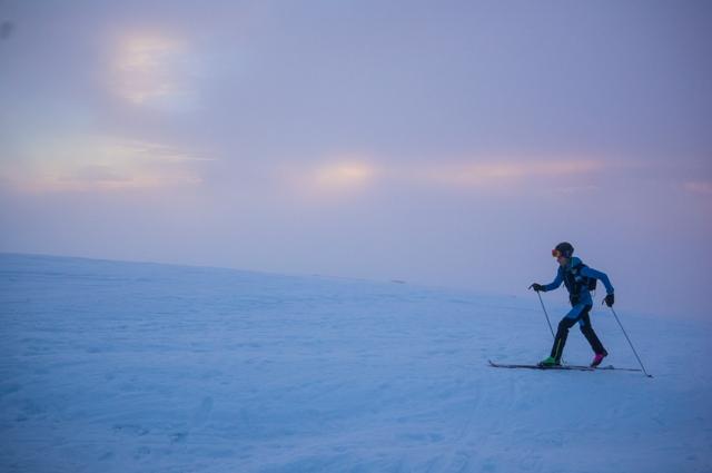 Presentación en Acción: Glacier Skimo Series