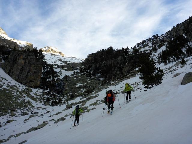 Foqueando. Esquí montaña