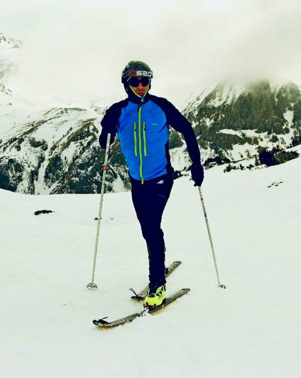 Chaqueta de skimo y esquí de montaña X Ski ALP